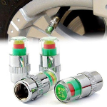 Tire Pressure Valves - 4 Pack - $12 with FREE Shipping!